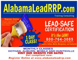 Alabama Lead RRP  postcard